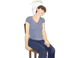 """Trap Stretch 1 min hold 10 times per day, no """"pain pain"""", just a """"nice discomfort"""""""