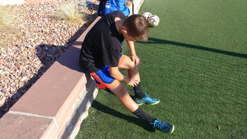 Hamstring Stretch: Bend at hip, not back. Feel it in the back of you leg. 1 min hold. 5-10 per day as able