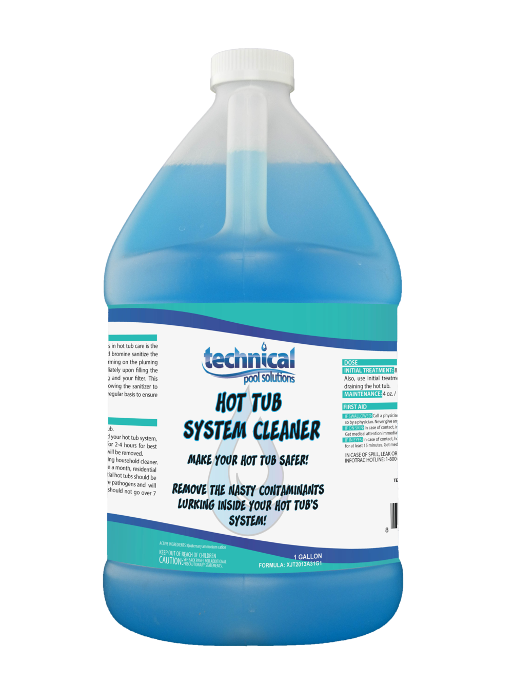 Hot Tub System Cleaner — Technical Pool Solutions