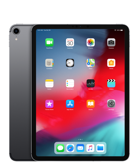 The 2018 iPad Pro/Apple