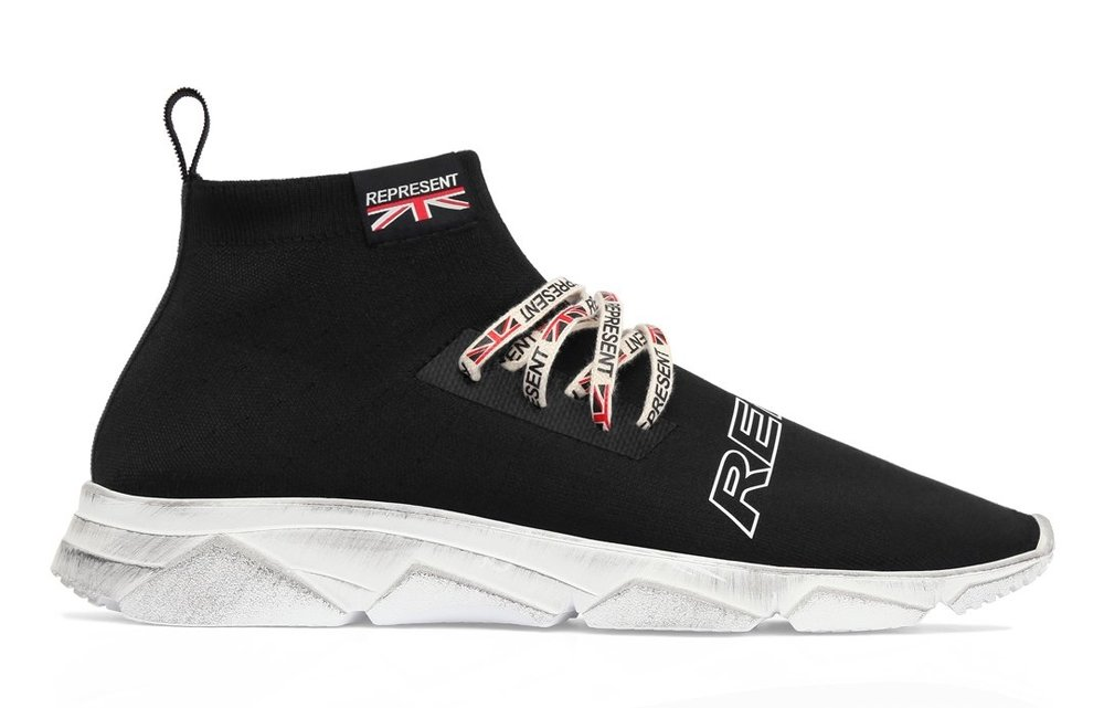 Represent Clothing Racer Sneaker; Image via   Represent Clothing