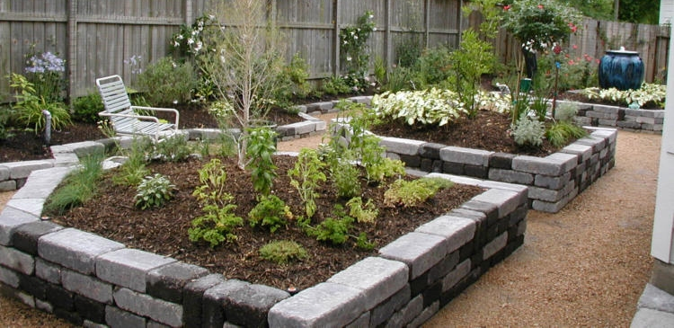 Don't forget to add mulch to raised beds as well!