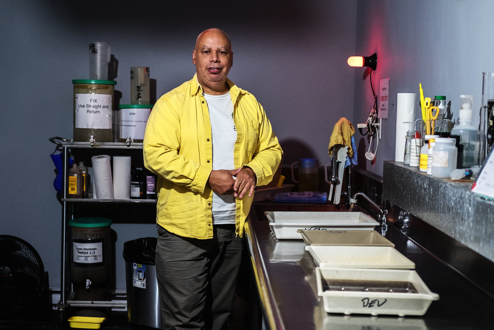 Allen Crooks – Founder of the Halifax Darkroom – Photograph by Ingrid Forster