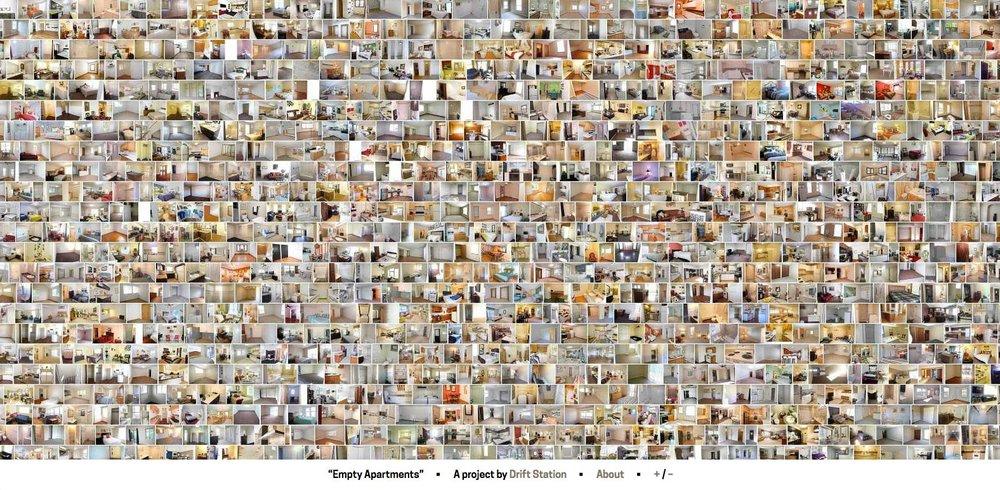 Screenshot from  http://www.emptyapartments.net