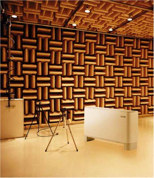 AERMEC's Anechoic Test Chamber