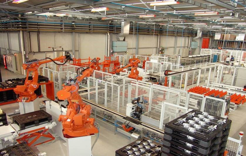 AERMEC Robotic Fan Coil Assembly Line