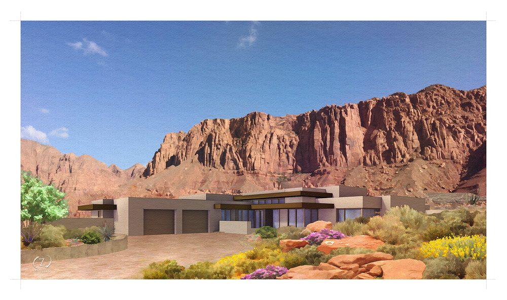 Set Into The Stunning Red Rock Terrain Of Kayenta, This Modern Home Offers  Tranquility And Shelter Amid The Rugged Landscape. Inspired By A  Minimalistu0027s ...