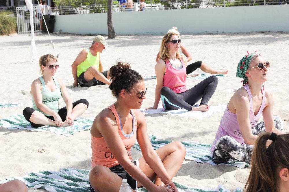 Wedding Yoga Bachelorette Yoga