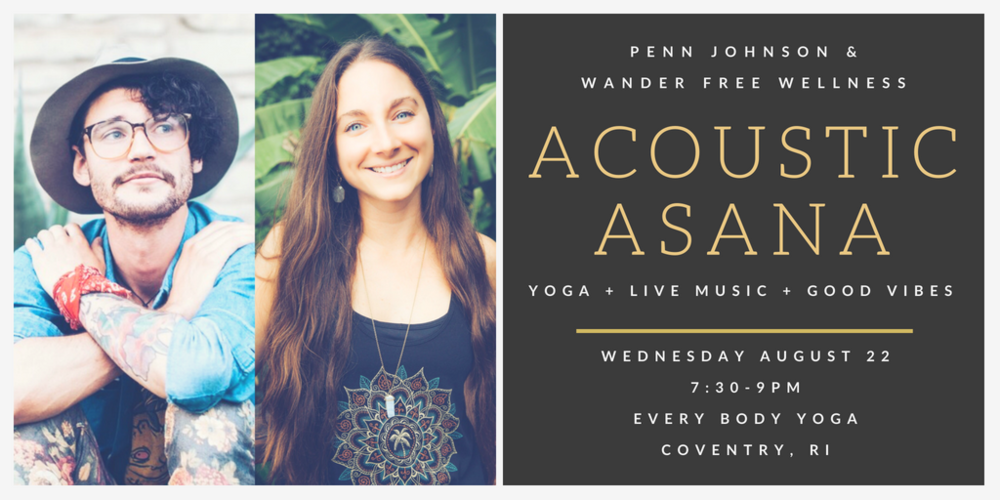 Acoustic Asana Live Music Yoga Coventry Rhode Island Every Body Yoga