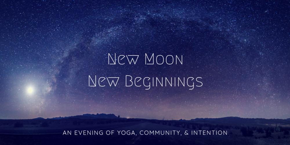 New Moon Yoga Meditation Workshop Naples Marco Island