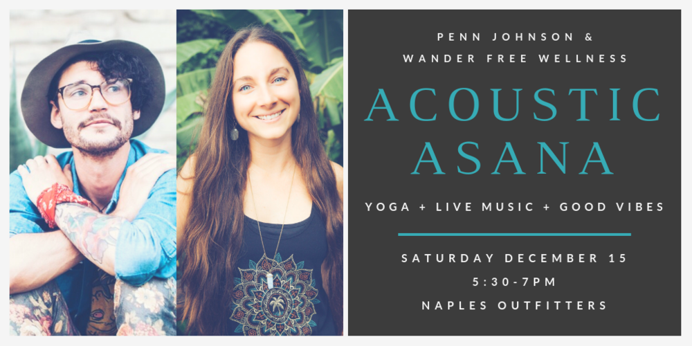 Naples Florida Yoga Live Music Acoustic Asana