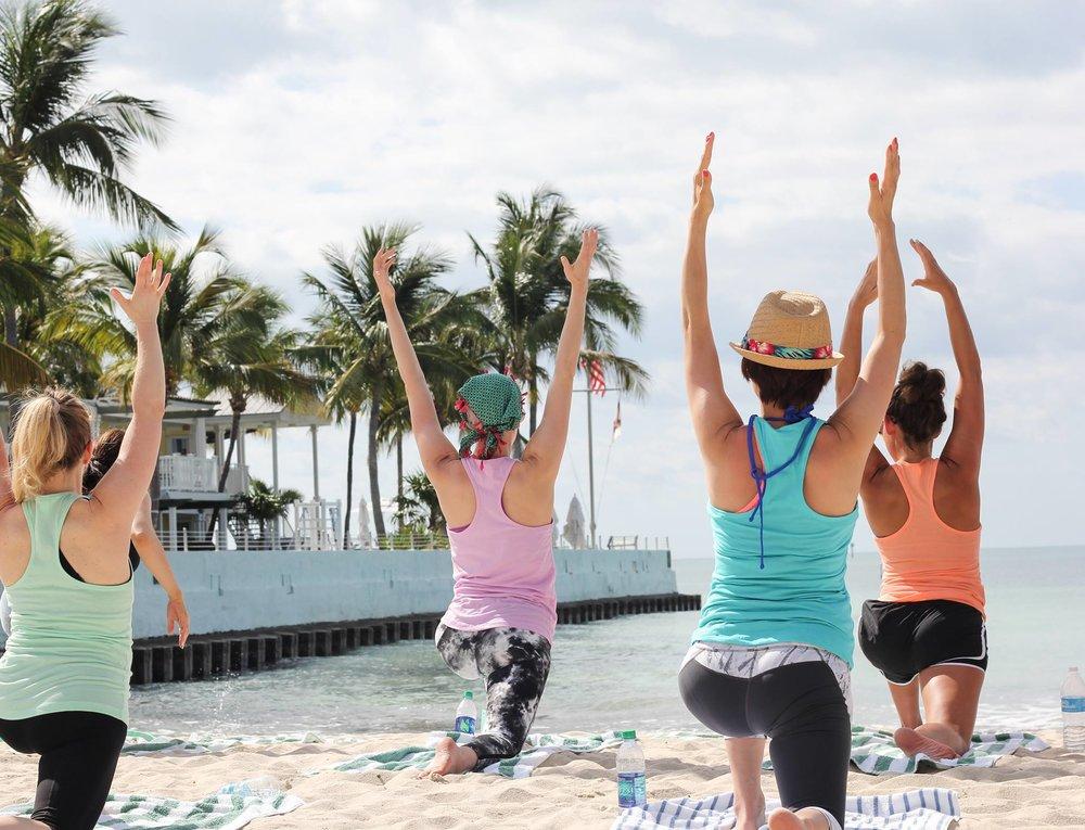 Beach Yoga Naples Florida