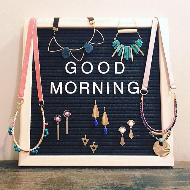 Wish it was Friday already, but I'll settle for Wednesday. 💕 . . . . .  #happyhumpday #etsyseller #chastina #handmadejewelry #leatherjewelry #gemstonejewelry #makersgonnamake #midwestmade