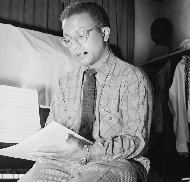 The late Billy Strayhorn, longtime Ellington collaborator and composer.