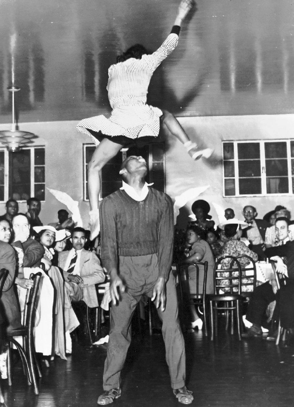 Ann Johnson and Frankie Manning, 1941