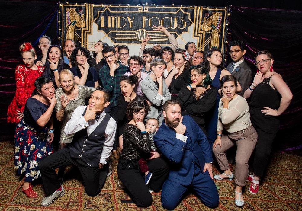 SF Bay Area dancers at Lindy Focus 2018