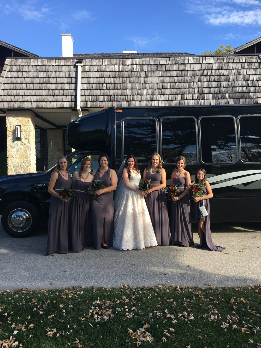 Alana and her bridesmaids