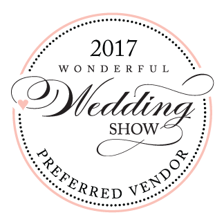 See you at the Wonderful Wedding Show January 21st and 22nd 2017!
