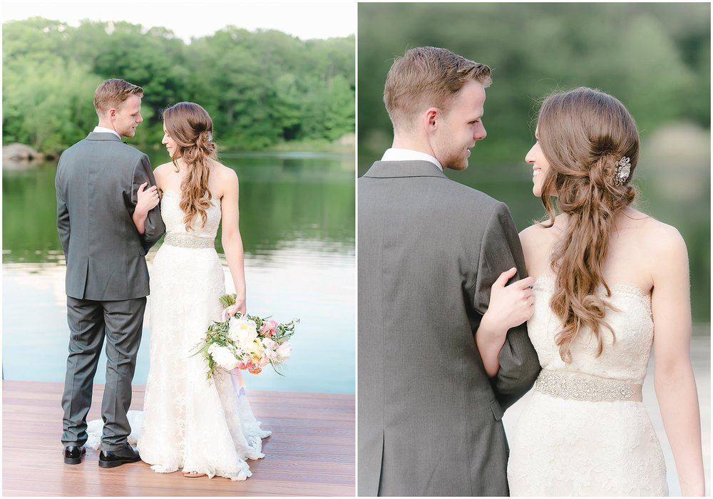 Rock Island Lake Club wedding pictures