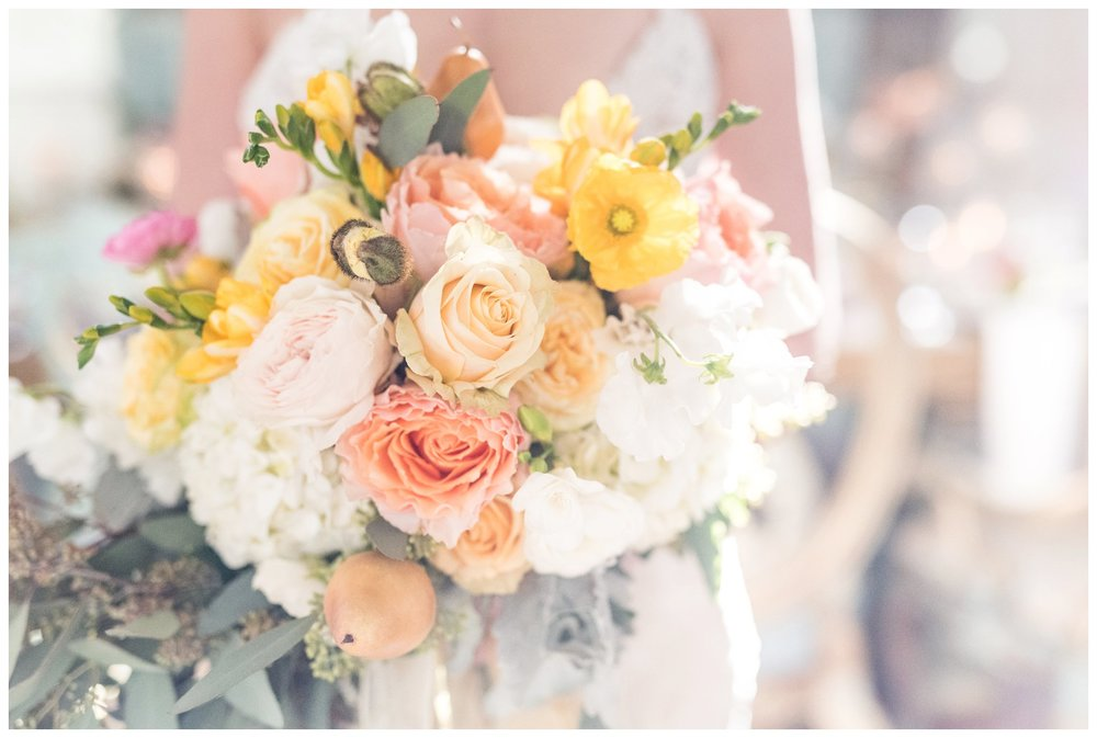 bridal bouquet at ashford estate allentown new jersey