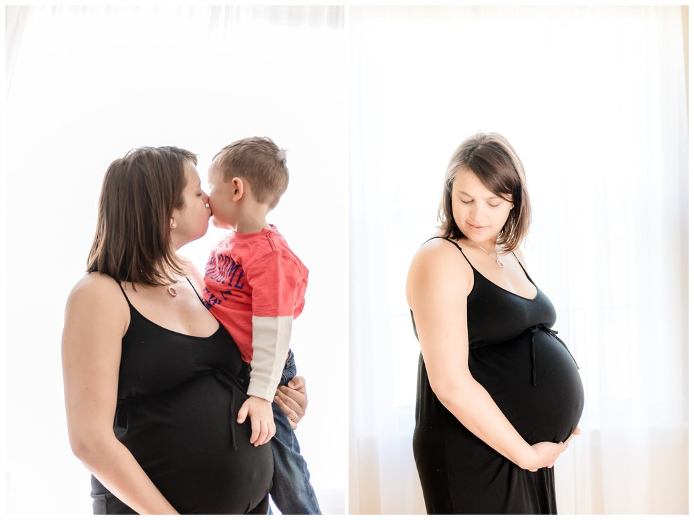 new jersey maternity session