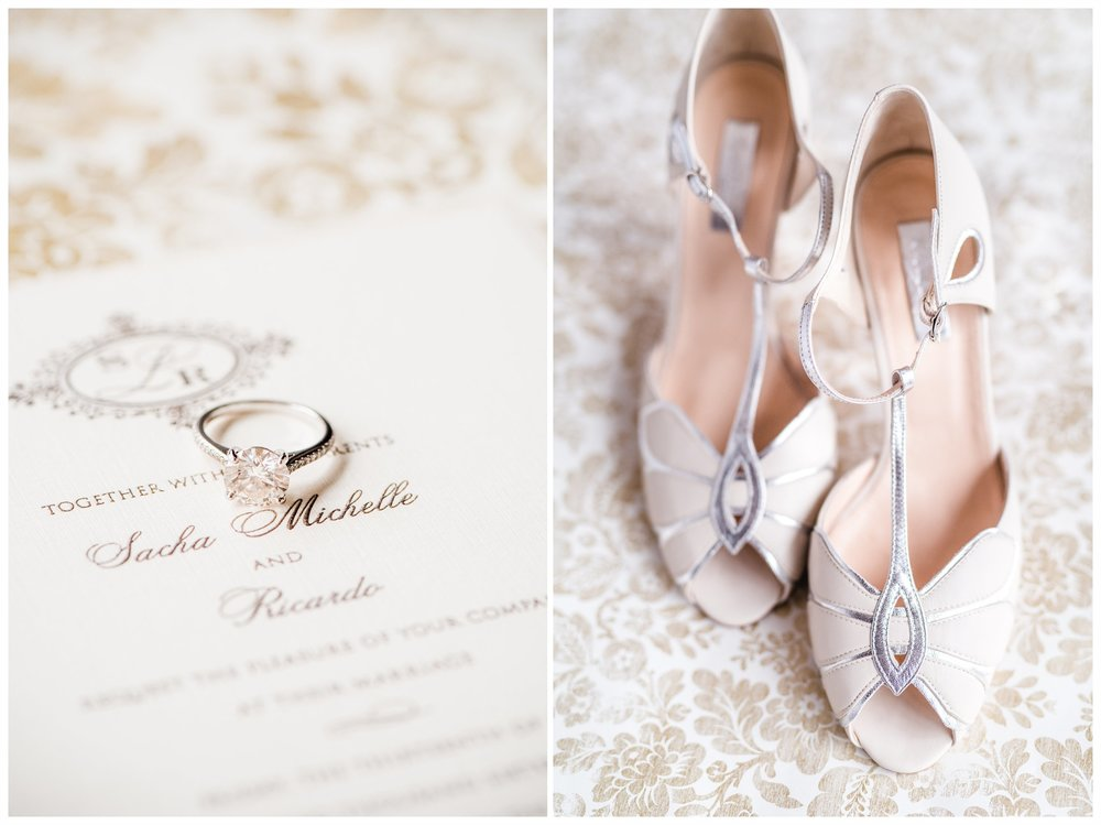 Bridal shoes at the Wythe Hotel, Williamsburg New York
