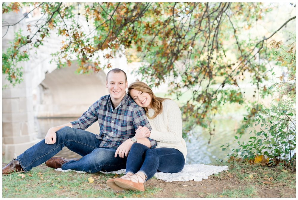 Verona Park Engagement Session