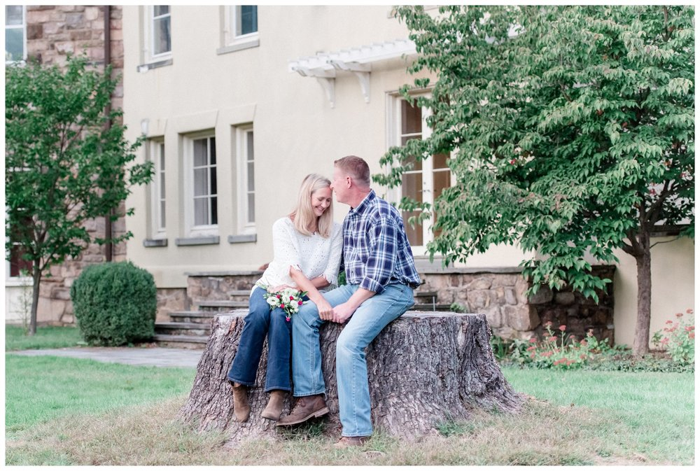 Cross Gardens Estate Engagement Session