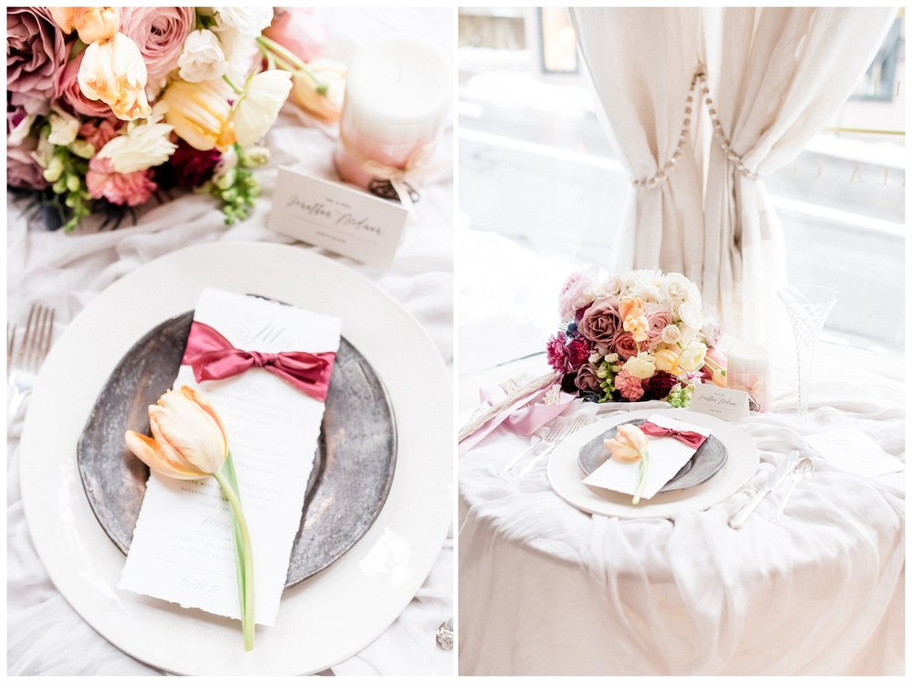 Winter Glamour styled shoot