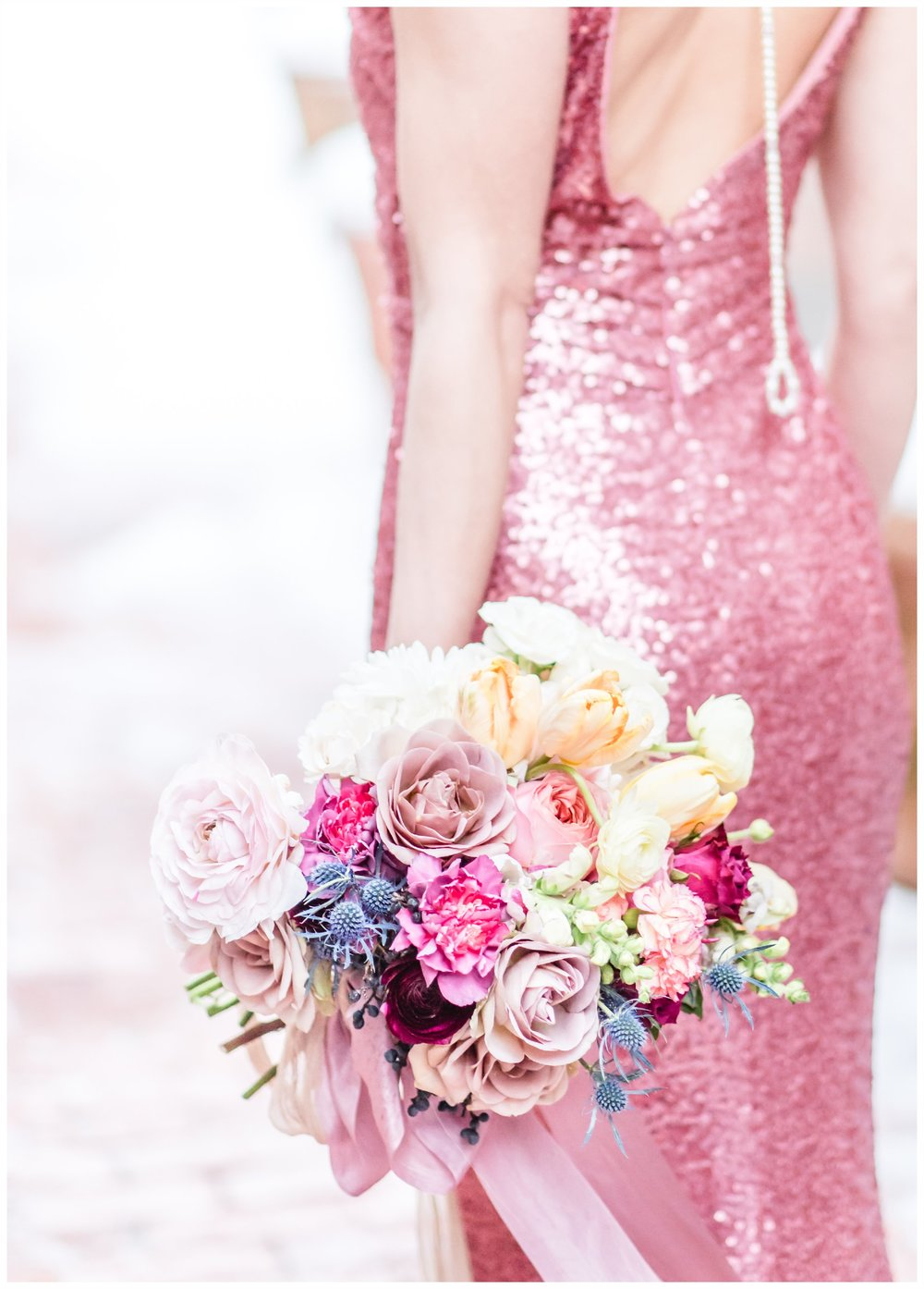 Badgley Mischka styled shoot