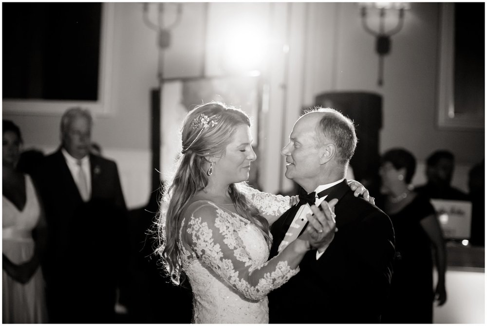 father and daughter first dance