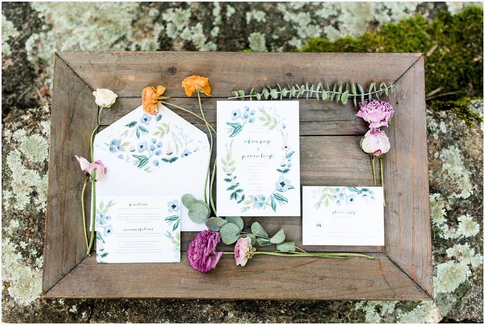 invitation suite for wedding