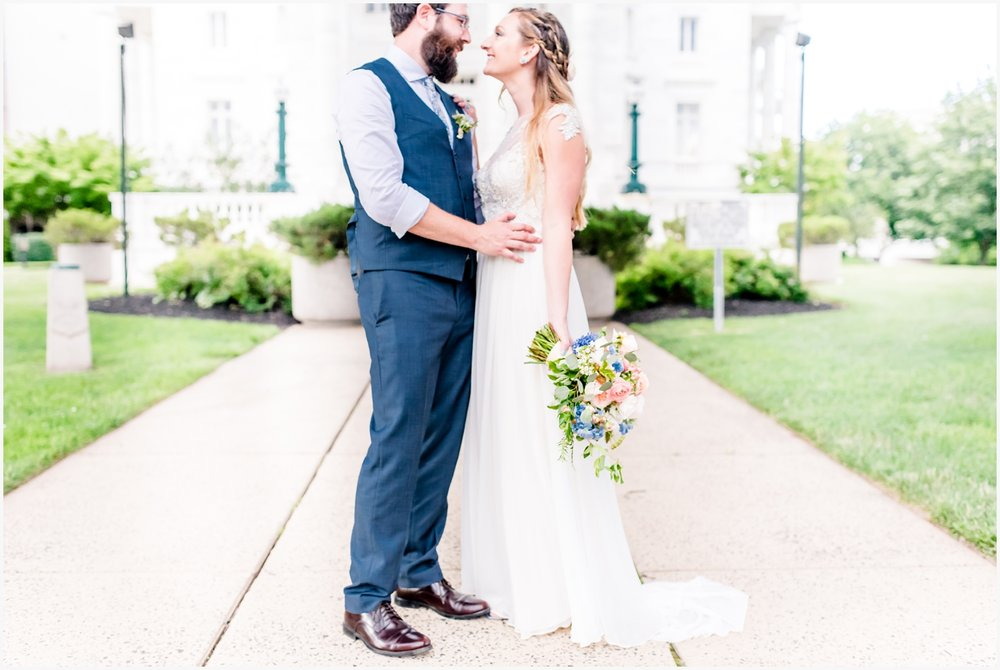 somerville courthouse wedding portraits