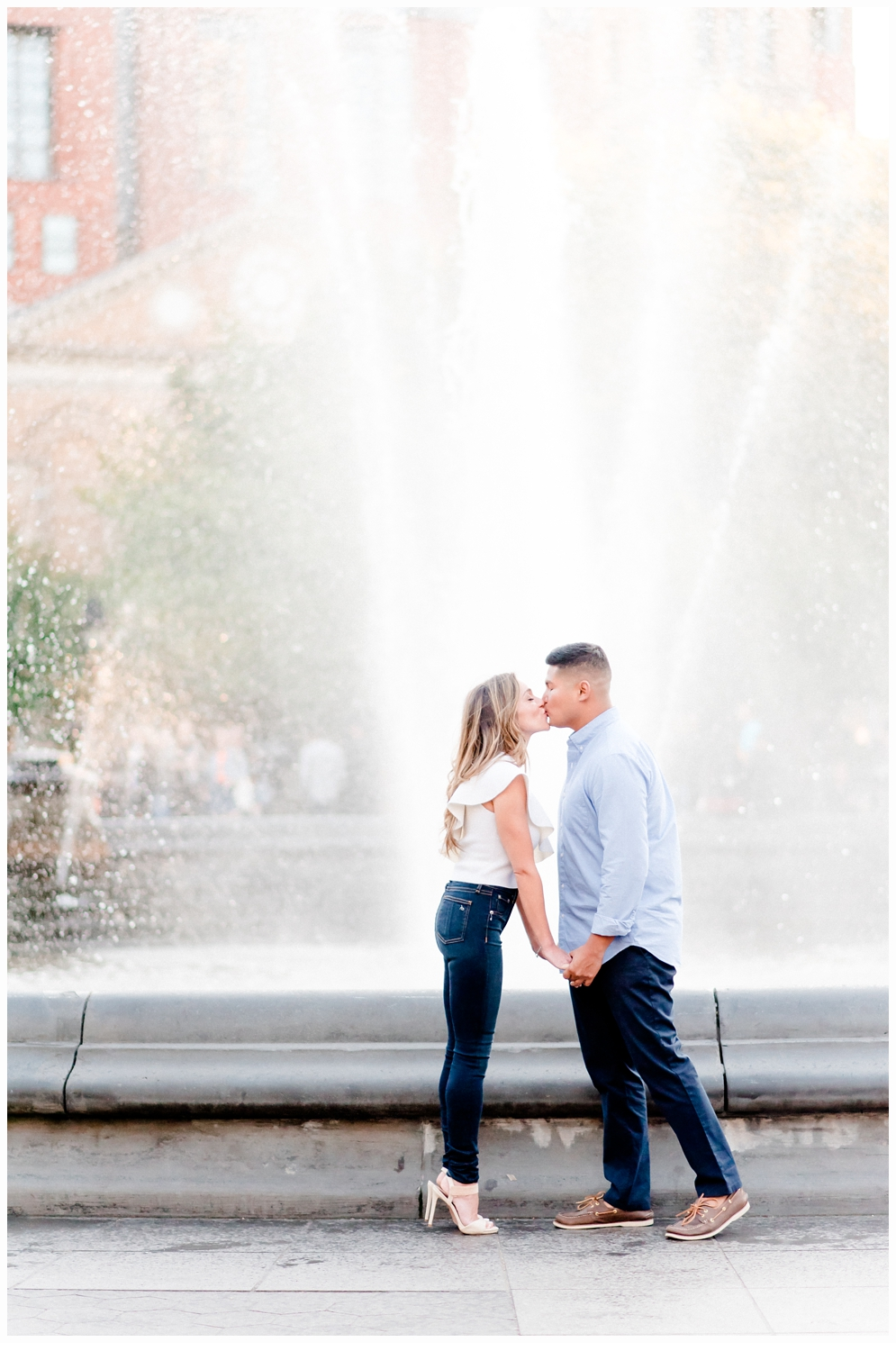Washington Square Park New York Engagement