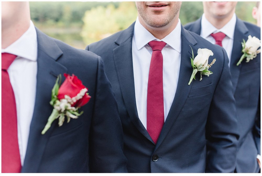 groomsmen at a wedding