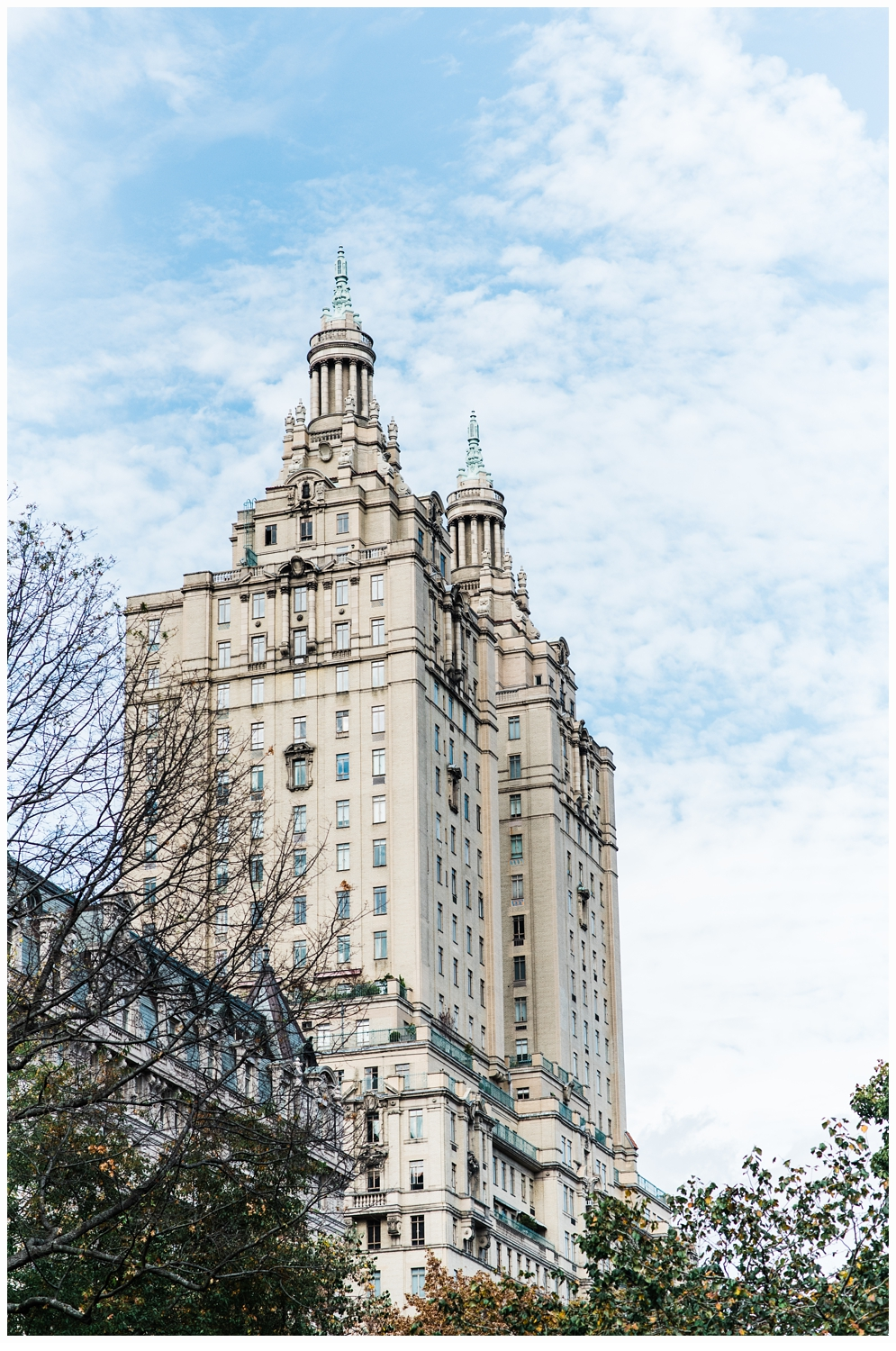 central park nyc building