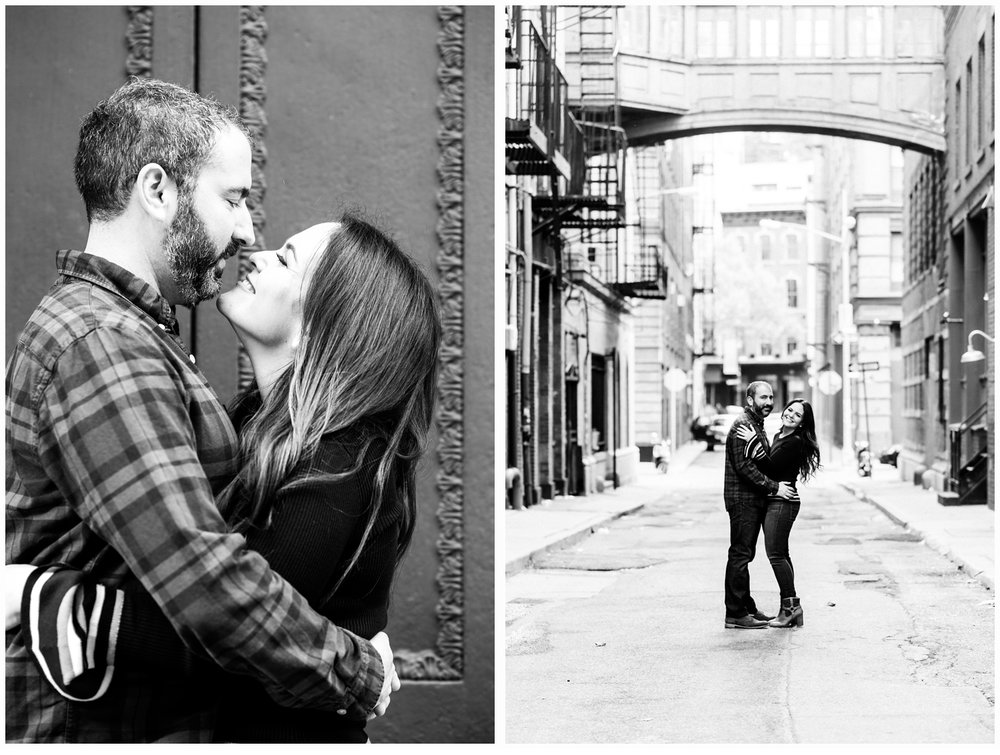 tribeca engagement session