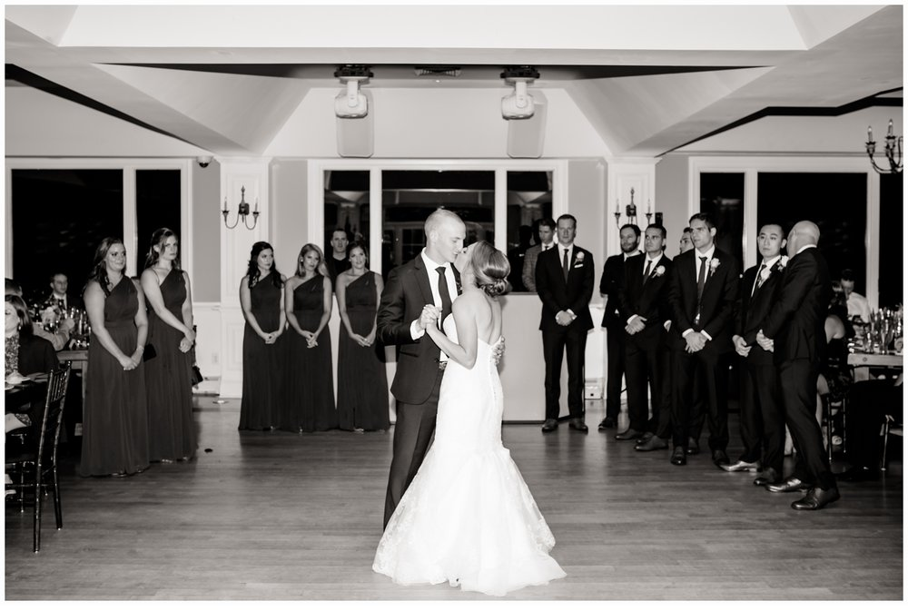 couples first dance at wedding