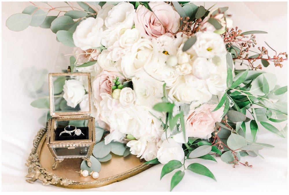 bridal floral bouquet