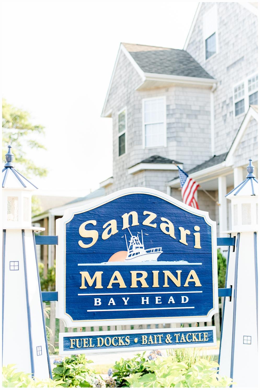Bay head new jersey marina sign