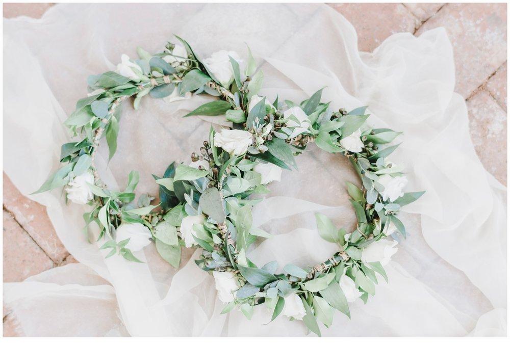 flowergirl flower crowns