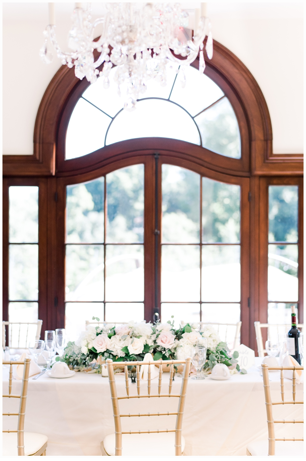 pretty window and tablescape