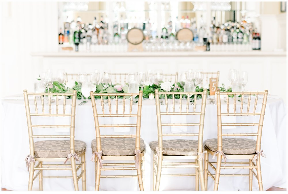pretty tablescape with florals