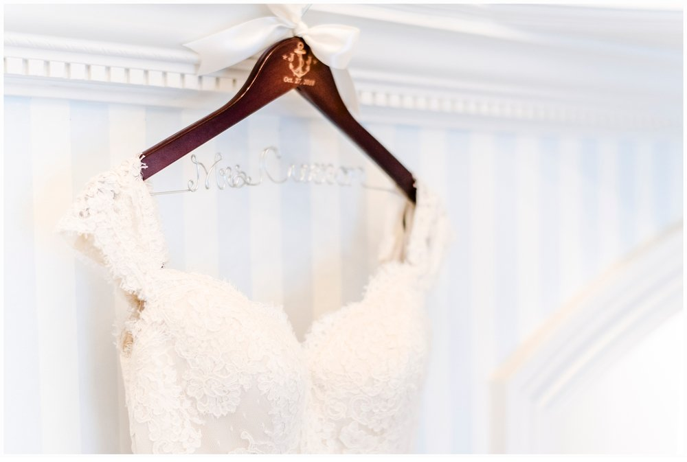 wedding gown made by matthew christopher bridal