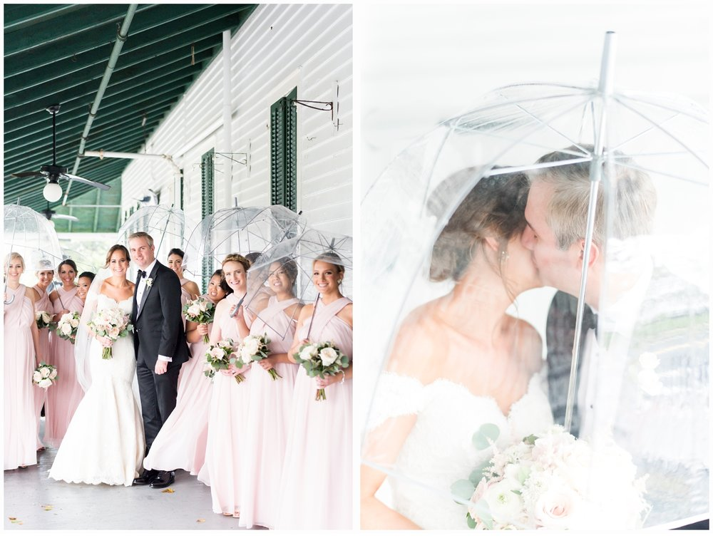 bridal party pictures on porch of parker house spring lake nj