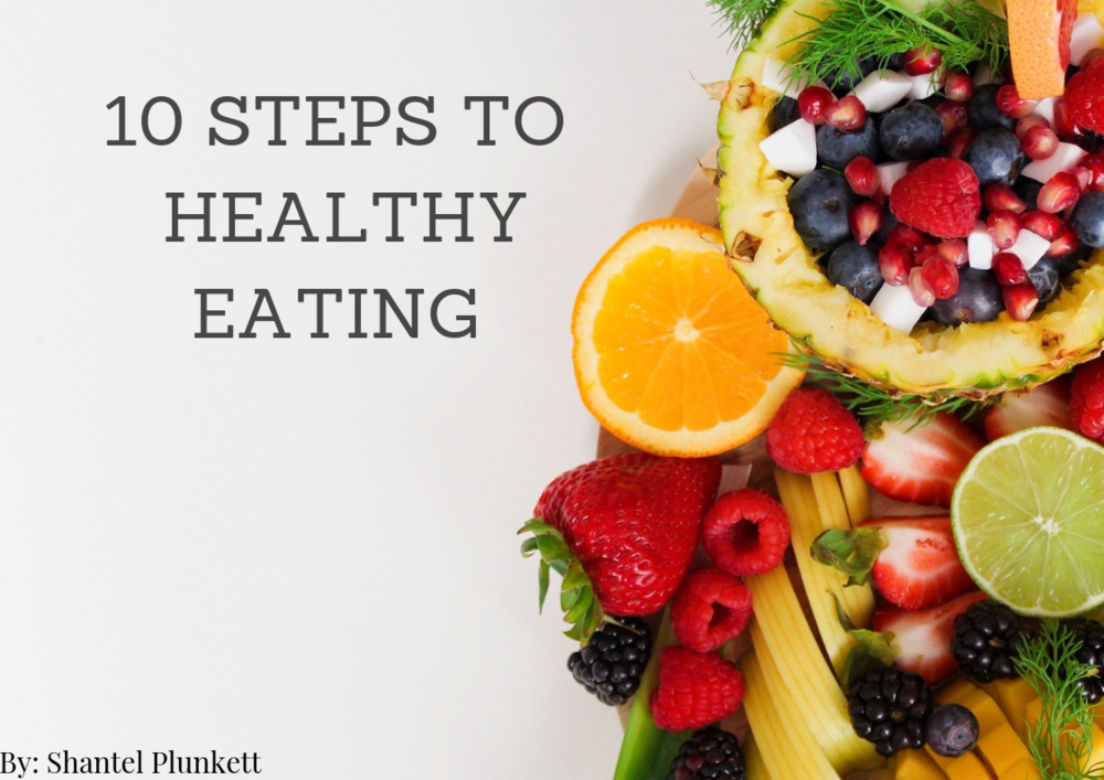 Let's Get Cooking! - The #1 rule to living a longer, healthier life is by eating healthy.In this eBook I break down 10 steps to get you on track with healthy eating. It goes from how you should look at foods when you grocery shopping to meal prepping.If eating healthier is on your to-do list, this is for you!