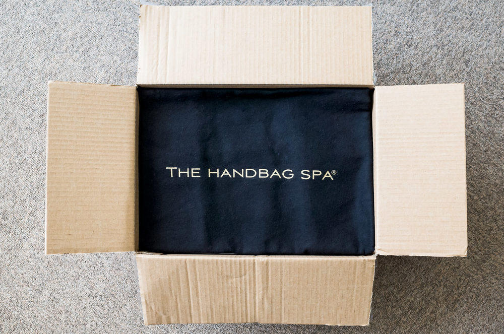 a2e167c32abd My friend explained that The Handbag Spa had been featured on the tv show,  Dragons Den. Founded by mother and daughter team Judy and Freya Bass, ...