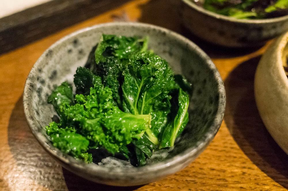 Salt baked celeriac (v)
