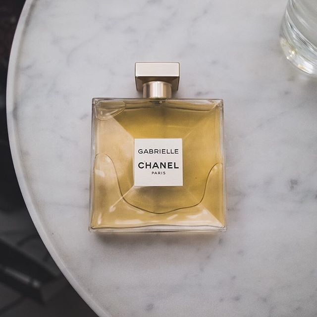 """'Where should one use perfume?' a young woman asked. 'Wherever one wants to be kissed,' I said."" - the launch of the new Gabrielle Chanel fragrance on the blog, click link in bio."