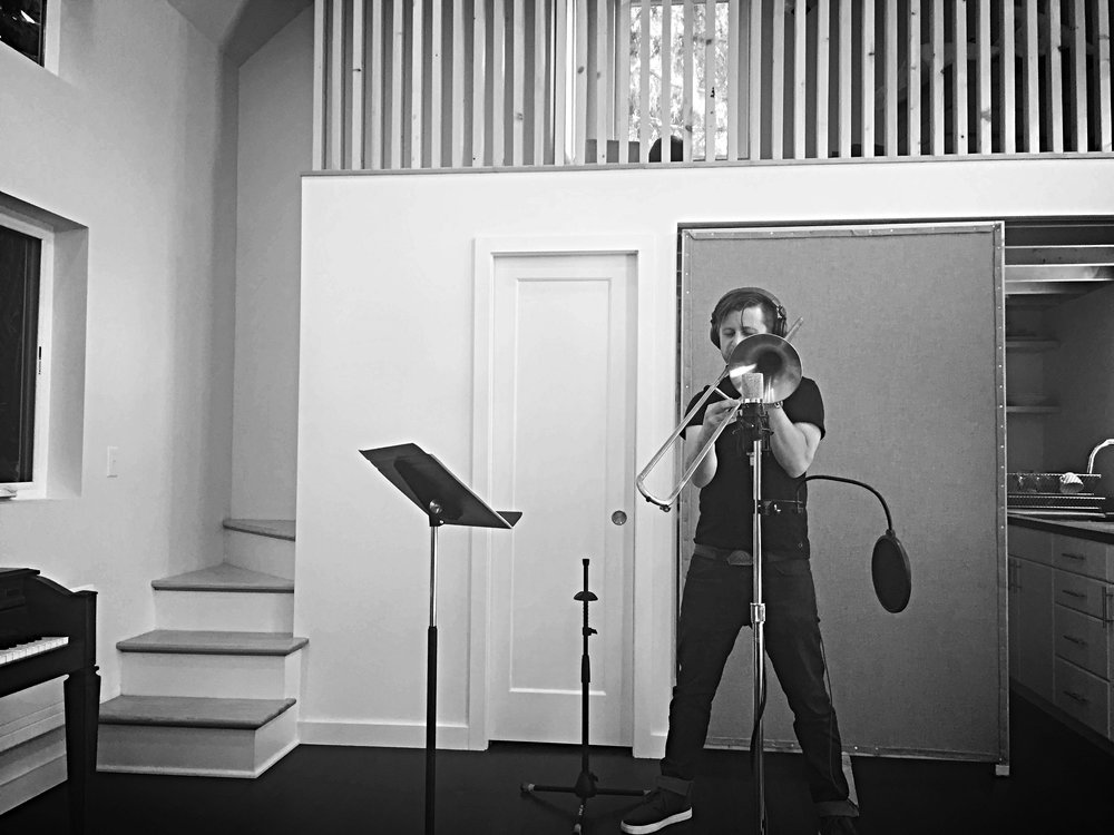 Jason Cressey, Trombone